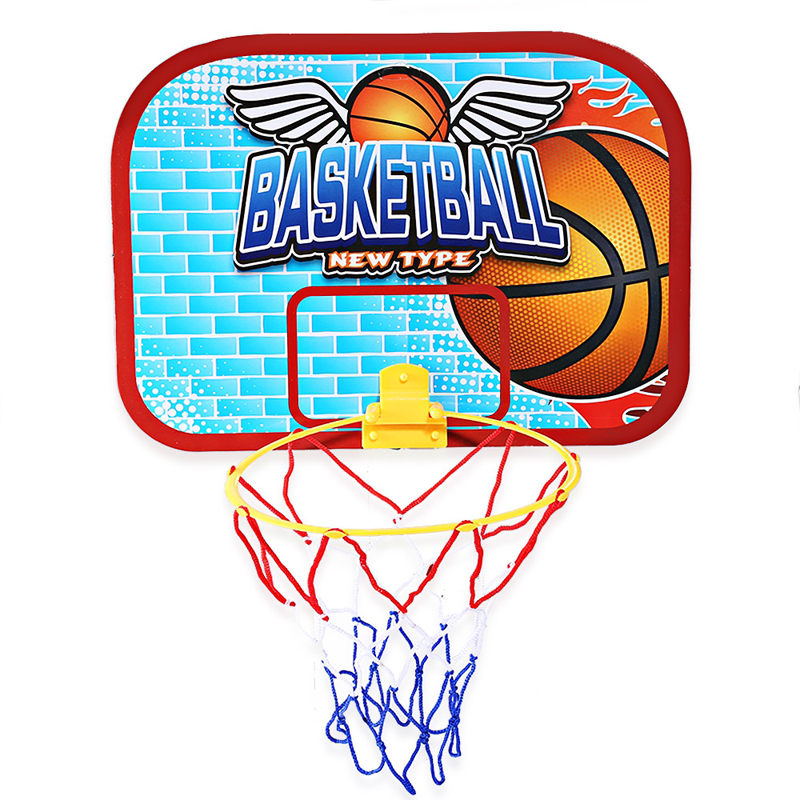 Mini Basketball Hoop Backboard with Ball for Kids Paper Backboard for Durablity Can Be Played Indoors(China)