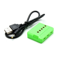 5 IN 1 USB Balance Charger For WLtoys V977 3.7V Battery For RC Helicopter Accessories Spare Parts