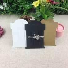 Wholesale  Free Shipping Black/White/Kraft Hair Clip Card Hair Band  Holder If Custom Logo MOQ : 1000 PCS Logo Cost Extra