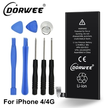 DORWEE New 1420mAh internal replacement 3.7V Li-ion battery For iPhone 4 4G GSM CDMA + Free Tools(China)