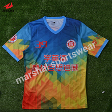 top quality personalised sublimation soccer jersey sublimation(China)