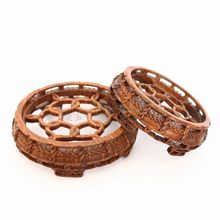The crystal ball basket base solid wood carvings are recommended household act the role ofing is tasted furnishing articles