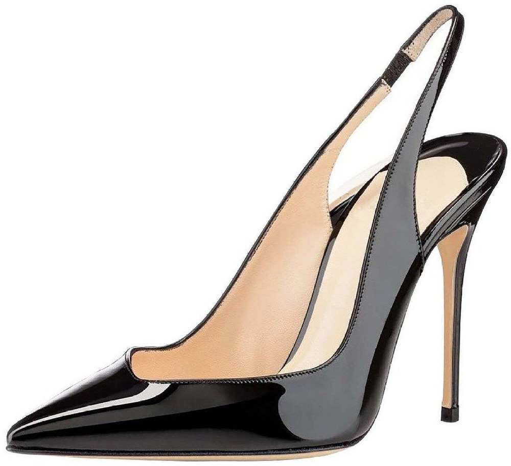Amourplato  Womens Ladies 2016 New Fashion Fliue 10CM Slingback  High Heel Pumps Handmade Cut Out Pointed Toe Party Dress  Shoes<br><br>Aliexpress