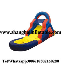 Children swiming pool inflatable water slides for sale