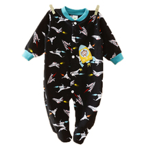 Brand New BABY ROMPERS Foot Cover Baby Girl's Pajamas Romper Newborn Feet Cover Sleepwear Body Suits One-piece Rompers Clothing(China)