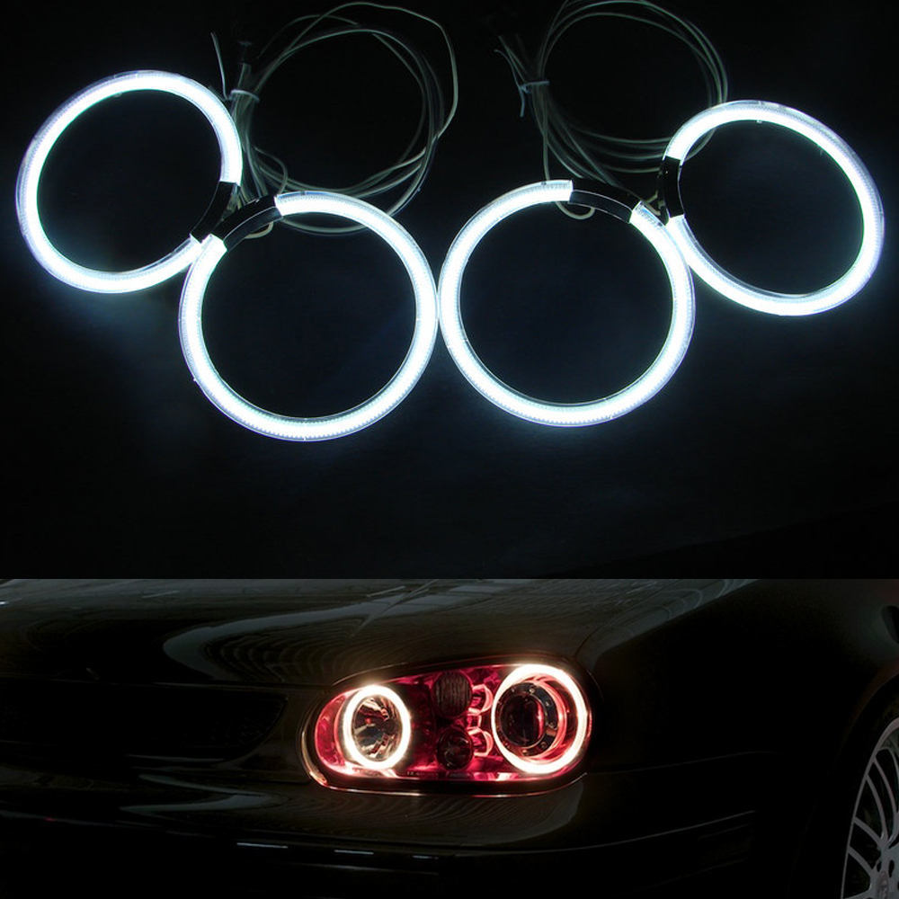 4 x Ultra bright illumination CCFL Angel Eyes kit for BMW E46 Coupe 2D(04+) 2 Door Coupe &amp; Convertible Models Only<br><br>Aliexpress