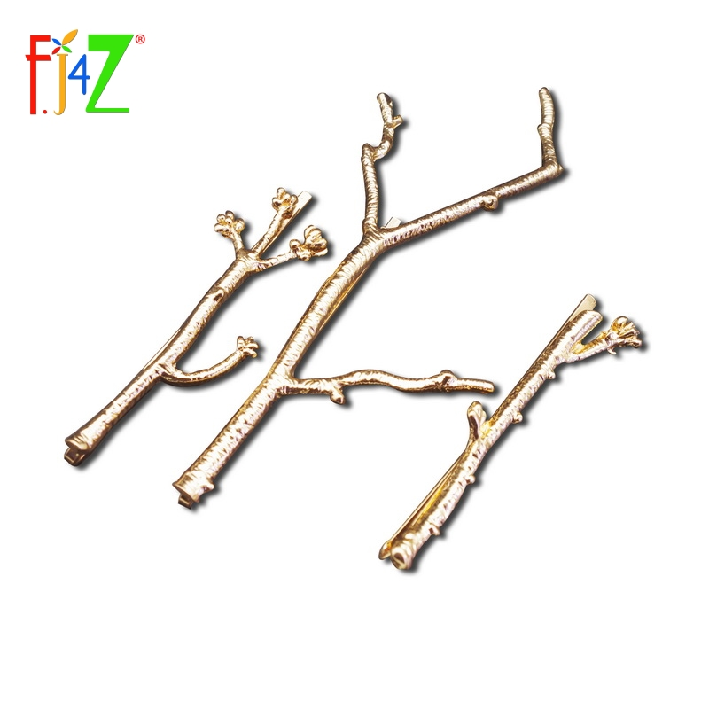 2016 Tree Clip Fashion Novel Designer Vintage Metal Branches Hairpins Women Wedding Hair Jewelry Accessories pinzas de pelo  -  F.J4U (Jewelries4U store Store)