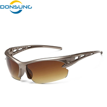 2017 New Men Sport Sunglasses Cycling Glasses Bicycle Bike Fishing Driving Sun Glasses Wholesale Glasses for Man Women 3105(China)