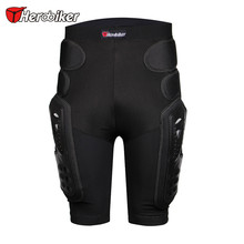 HEROBIKER Motocross Shorts Protector Motorcycle Protective Shorts Armor Pants Hip Pads Protection Riding Racing Equipment Gear(China)
