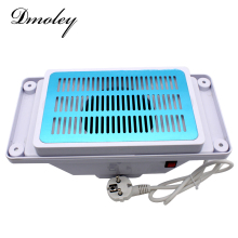 Dmoley Table Nail Dust Collector Machine For Nail Art Manicure Dust Collector With Bags Electric Suction Dust Collector Tools