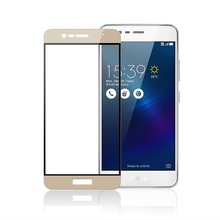 Color Full Cover Screen Protector Tempered Glass For Asus Zenfone 3 Max ZC520TL ZE520KL Zoom ZE553KL Pegasus 3s Max ZC521TL Film