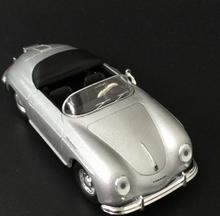 High simulation 356 sports car model, 1: 43 alloy classic convertible classic car, static model, children's toy car,wholesale
