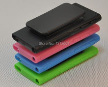 For Apple iPod Nano 7 7G 7th Belt Clip TPU Rubber Gel Soft Skin Case Cover(China)
