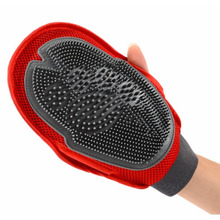 Glove For Combing Cat Dog Hair Brush Grooming Supply True touch Massage Bath Large Dog Brush Combs Dog Cleaning Massage 30