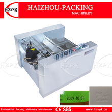 HZPK Automatic Steel Seal Produce Expiry Date Impress Printer Ink Printing Machine Box And Paper Printer For Medicine box MY-300(China)