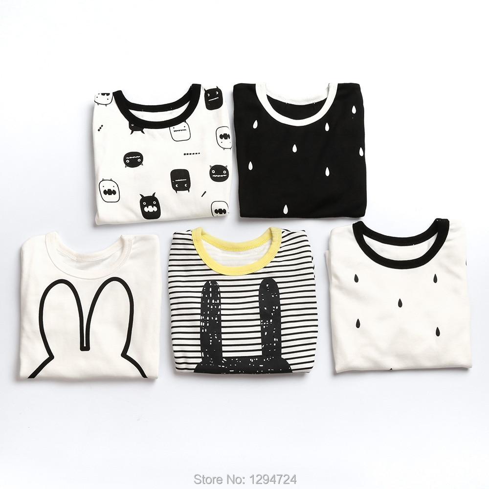 2017 winter rabbit print  baby boy clothes t shirts+ PANTS 2 pcs clothing sets kikikids baby girl clothes pajama sets kikikids<br><br>Aliexpress