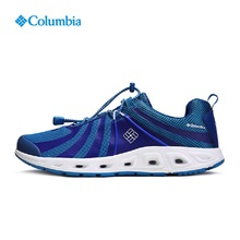 Columbia Outdoor 2017 Men's Breathable Cushioning Amphibious Sneakers Men Breathable Quick-Drying Beach Aqua Shoes YM2056 438(China)