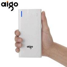 Aigo K200 20000mAh Power Bank Large Capacity Portable External Battery xiaomi Mobile Phone Backup LED Portable Powerbank