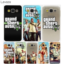 Lavaza Grand Theft Auto GTA V Hard Case for Samsung Galaxy J5 A5 A3 (2015/2016/2017) A7 & Note 3 4 & J7 J3 J5 Prime(China)