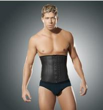 Nine new men rubber bar steel bone garment manufacturer of latex corset function of corsets in Europe and America
