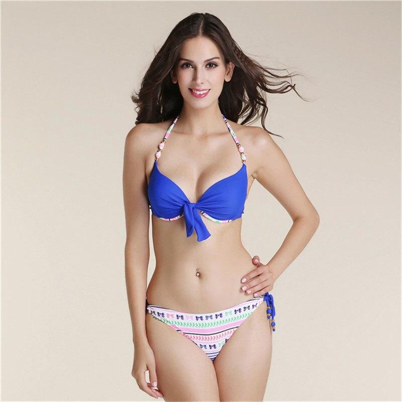 Swimwear Bikini Push Up Bikini Brazilian Sexy Bandage Beach Swimwear Ladies Swimsuit Bathing Suit Maillot De Bain <br>