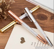 2017 Newest Swarovski Roller ball Pen Crystal pen Diamond swarovski elements  ballpoint Pen