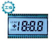 EDS803 5V 3.5 Digit Segment LCD Display Module TN Type Positive Display Static Driving Semi-transparent 50.8*30.48*2.8mm