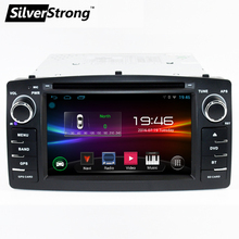 Free shipping 2DIN Android GPS Car DVD TOYOTA Corolla e120 BYD F3 Radio DVD navigation 2din DVD Car GPS Radio DAB+ wifi