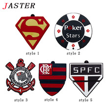 JASTER New Football Team Logo Style !Wholesales Cartoon Team Logos usb 2.0 memory flash stick pen thumbdrive/gift/disk