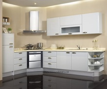 High gloss/lacquer kitchen cabinet mordern(LH-LA089)(China)