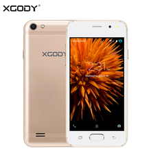 XGODY G11 3G 4.5 Inch Smartphone Android 5.1 MT6580 Quad Core 768MB RAM 8GB ROM 5.0 MP Unlock Dual Sim Card WiFi GPS Cell Phone(China)