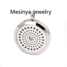 10pcs newest popular heart magnet pendant (30mm) Aromatherapy / Essential Oils Stainless Steel Perfume Diffuser Locket Necklace