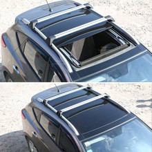 Aluminum Crossbars for Nissan X-Trail Rogue 2014 2015 2016 Baggage Luggage Roof Rack Rail Cross Bar