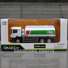 1:60 DIECAST METAL SCANIA TANK TRUCK VEHICLE MODEL TANKER REPLICA