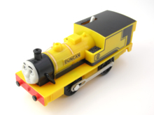 Electric Thomas Train T046E DUNCA Thomas And Friends Trackmaster Magnetic Tomas Truck Locomotive Engine Railway Toys for Boys(China)