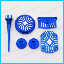 Blue Engine Dress Up Kit For LIFAN ZONGSHEN YX 50cc 70cc 90cc 110cc Pit Dirt Bike Motorcycle Motocross Scooter(China)
