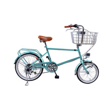 20/24 inch BMX Pet Bike Carbon Steel Bicycle For Girl 6 Speed Bead Pedal Bike Rear Drum Brake(China)