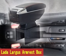 For Lada Largus armrest box central Store content box with cup holder ashtray decoration products accessories Generic model