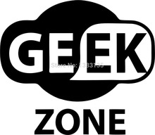Buy Free Geek Zone Logo Funny Car Sticker Truck Window Bumper Auto Door Laptop Kayak Vinyl Decal 8 Colors for $1.41 in AliExpress store