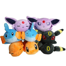"8pcs/lot Espeon Charmander Umbreon Mudkip Plush Toy Stuffed Dolls 8""20cm Free Shipping"
