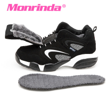 Monrinda Sneakers Women's Winter Running Shoes Waterpoof Sport Shoes Men Outdoor Cow Leather Snow Shoe Zapatillas Deporte Mujer(China)
