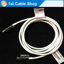 Genuine thunderbolt cable 6ft 2M for apple macbook pro air Thunderbolt male to thunderbolt male(China)