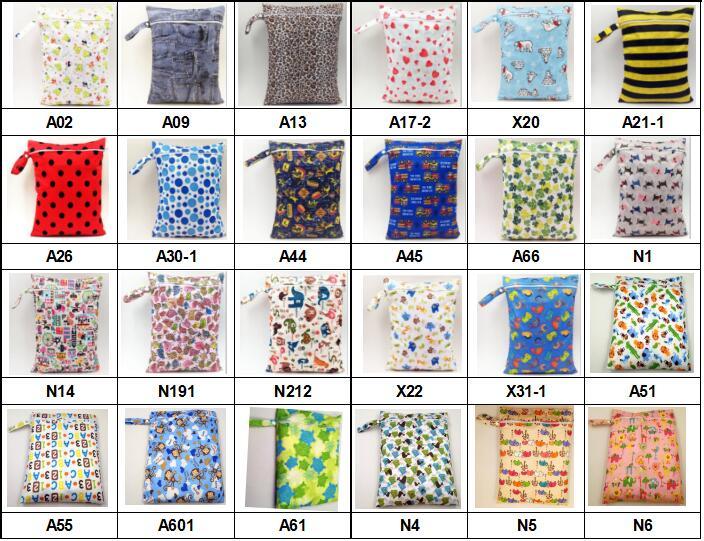 wet bag color list