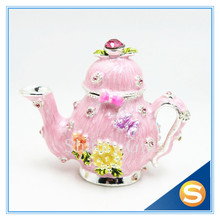 Free Shipping New Design teakettle Jewelry box Wedding Favor Box Wholesales