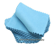 100pcs/lot Silver Jewelry Cleaning Gold Cleaner Polishing Cloth 80x80mm Cheapest Double Sides Cotton Flannels Fabric