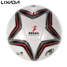 High Quality New 2017 Official Size 5 Football Ball PU Granule Slip-resistant Football Inflatable Match Training Soccer Ball