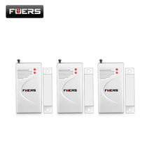 Fuers  433mhz/315mhz Wireless Opening Sensor  Home Alarm Security Window/ Door Sensor gap detector D022