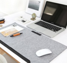 1 PC Fashion Mouse pads personality mouse pad Felt mouse pad for office 67x33cm Wrist Rest Support for Desktop PC Computer