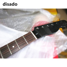disado 21 Frets Maple Electric Guitar Neck Rosewood Fretboard Inlay Dots Glossy Paint Guitar parts Accessories Can Be Customized