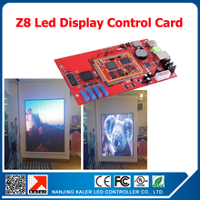 kaler China manufacturer Z8 led controller for video led display sign board 128*512 pixel asynchronous led sign control card(China)